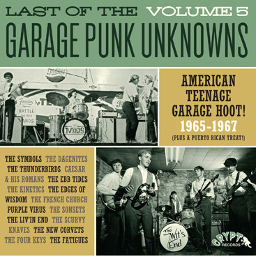 Last Of The Garage Punk Unknowns Volume 5