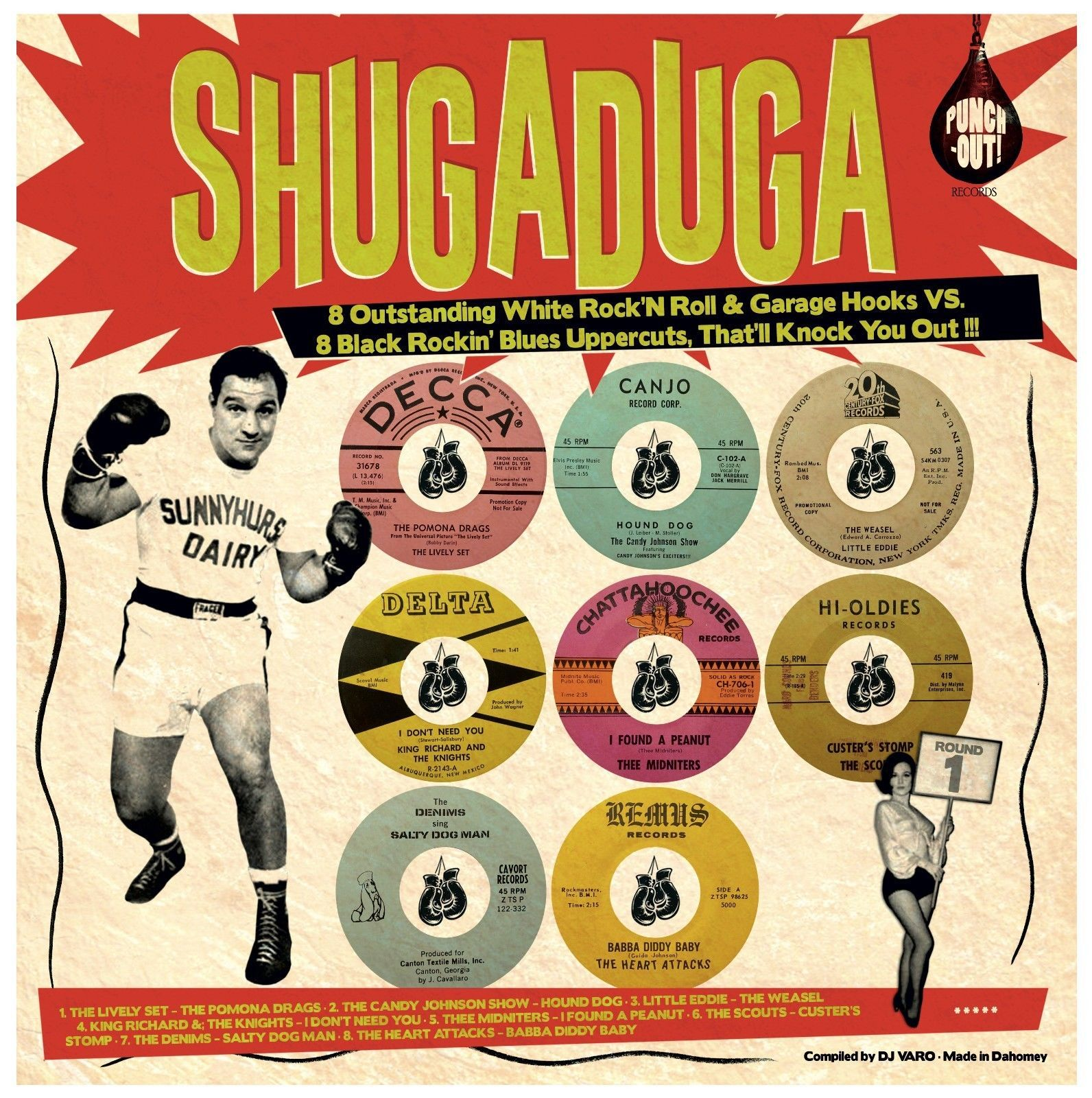 Shugaduga -  Black Rockin' Blues Uppercuts...