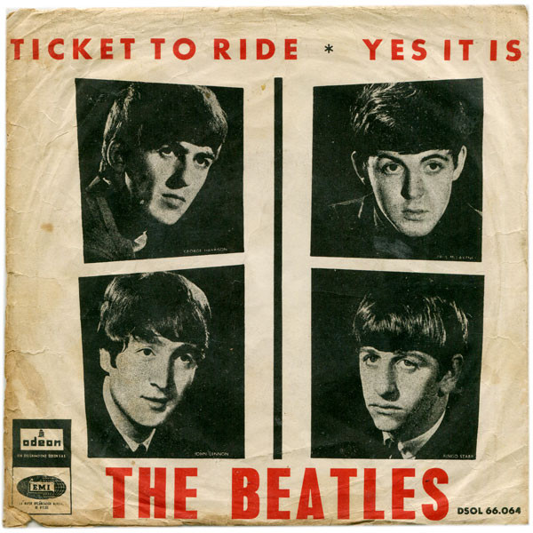Ticket to Ride/ Yes It Is